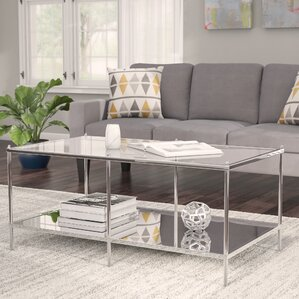 Busey Glam Mirrored Coffee Table Part 81