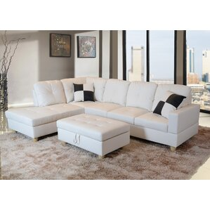 Russ Sectional  sc 1 st  Wayfair : sectional sofas white - Sectionals, Sofas & Couches
