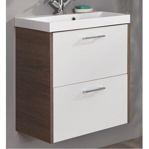 Fackelmann 60 cm Wandmontierter Waschtisch Malua