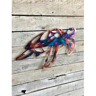 Super Metal Sea Turtle Wall Art | Wayfair HP17