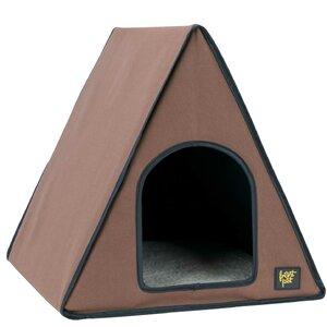 A-Frame Heated Cat House