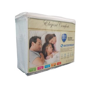 Hypoallergenic Waterproof Mattress Protector by ELEGANT COMFORT