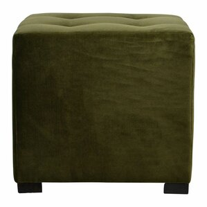 Merton 4 Button Tufted Square Ottoman by Sole Designs