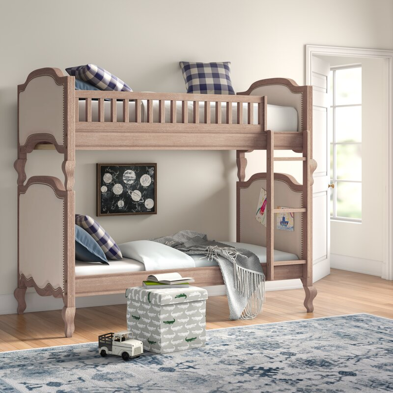 Abbeville Wooden Twin Bunk Bed