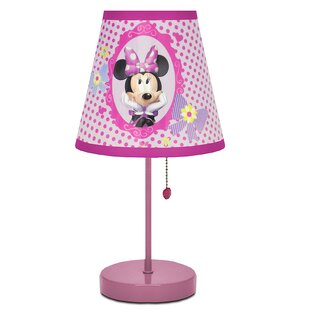 Mickey mouse lamps wayfair minnie mouse 20 table lamp aloadofball Gallery