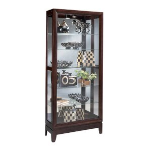 Urbane Lighted Curio Cabinet by Philip..