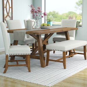 Montcerf 6 Piece Dining Set by Laurel Fou..