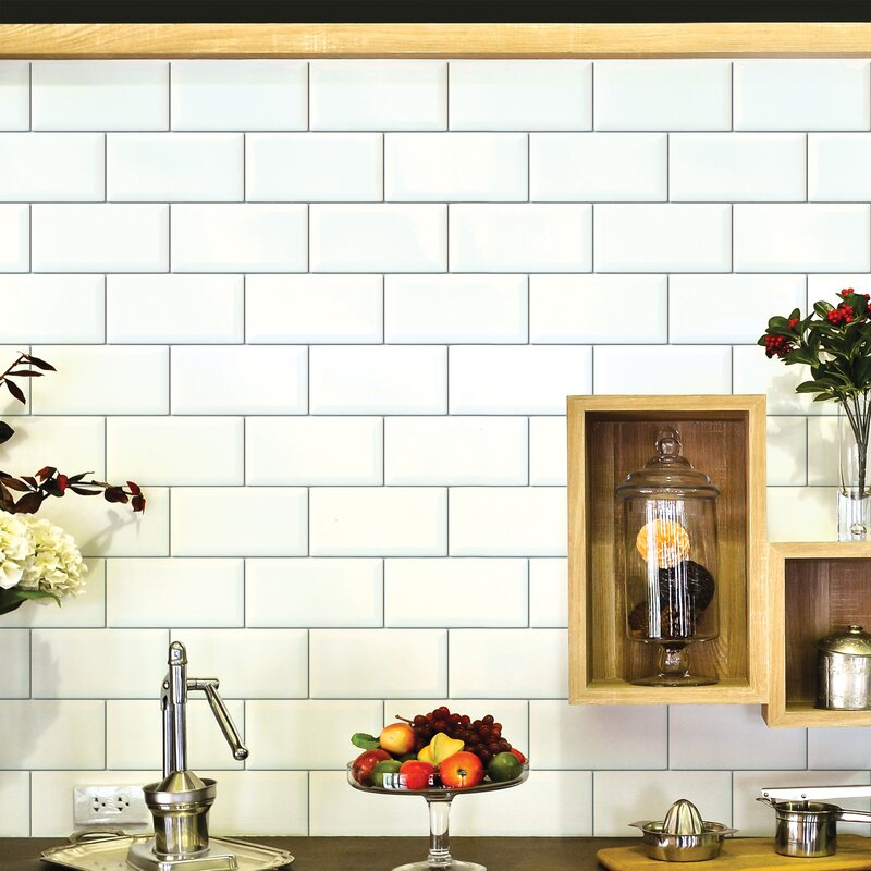 Wallies Subway Tiles 316 X 25 Wall Mural Wayfair