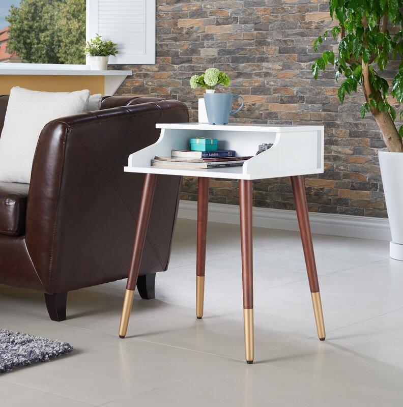 Kennison Mid Century Modern End Table