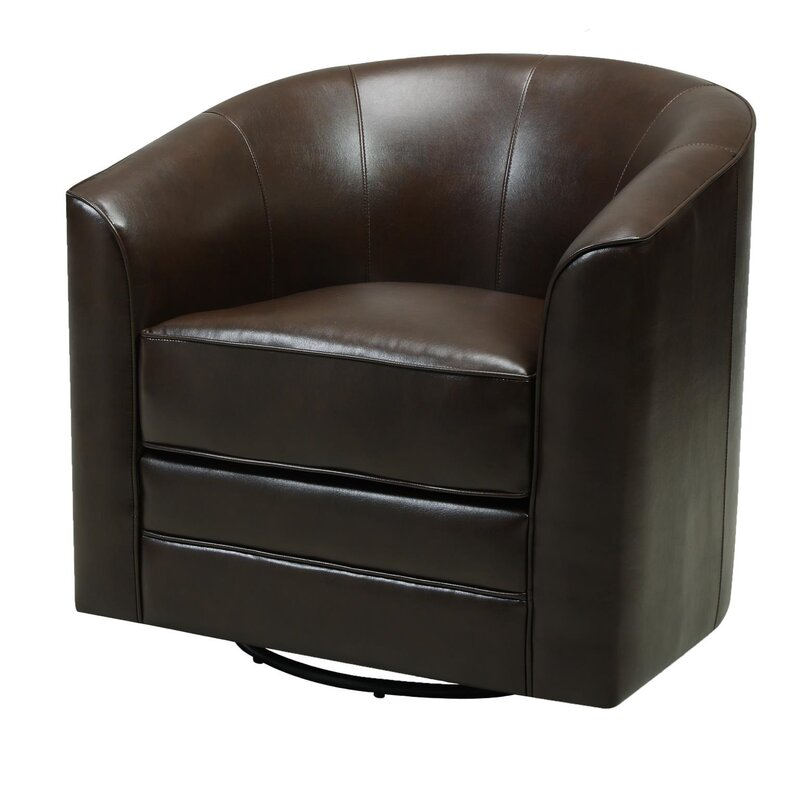 Morefield Swivel Barrel Chair & Reviews | AllModern