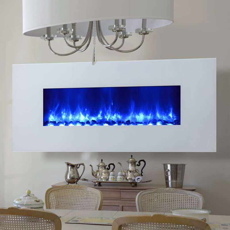 dynasty miami led wall mounted electric fireplace reviews wayfair rh wayfair com electric led fireplace insert hampton bay electric led fireplace