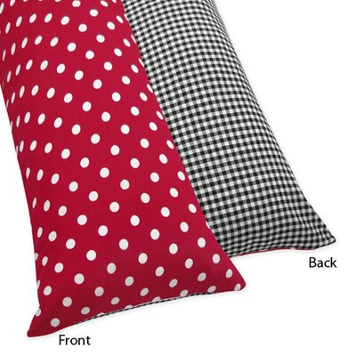 Polka Dot Pillowcases Beauteous Sweet Jojo Designs Polka Dot Ladybug Body Pillow Case Wayfair