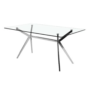 Abeale Rectangle Modern Dining Table