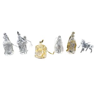 432 Piece Jesus Wise Men. Mary Joseph Nativity Christmas Ornament Set