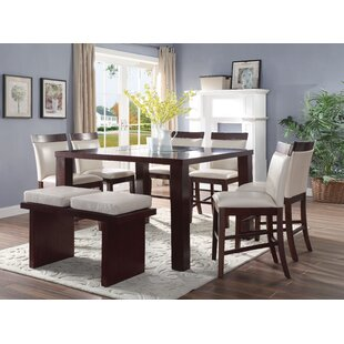 Harker 8 Piece Counter Height Dining Set