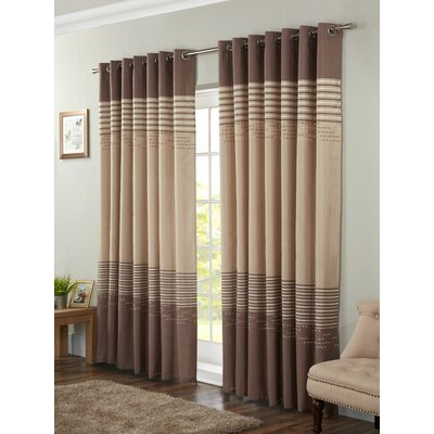 Brown Curtains You Ll Love Wayfair Co Uk