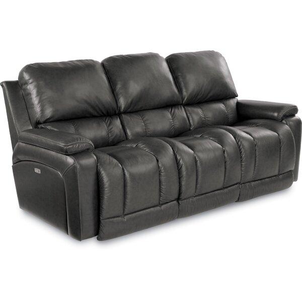 Greyson Leather Reclining Sofa