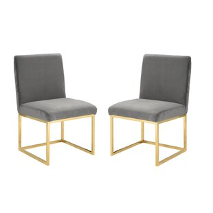 Huerta Upholstered Dining Chair (Set of 2)