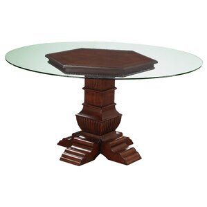 Casa del Mar Pedestal Dining Table by Fairfax Home Collections