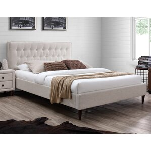 Nellie Queen Upholstered Platform Bed by Latitude Run