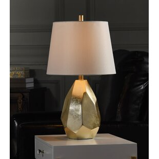 Glenna Jean Flossie White Lamp with Pink Shade 91011