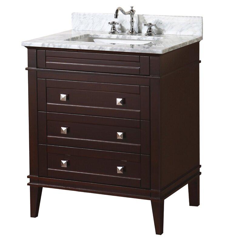 """Bathroom Vanity Sets kbc eleanor 30"""" single bathroom vanity set & reviews   wayfair"""
