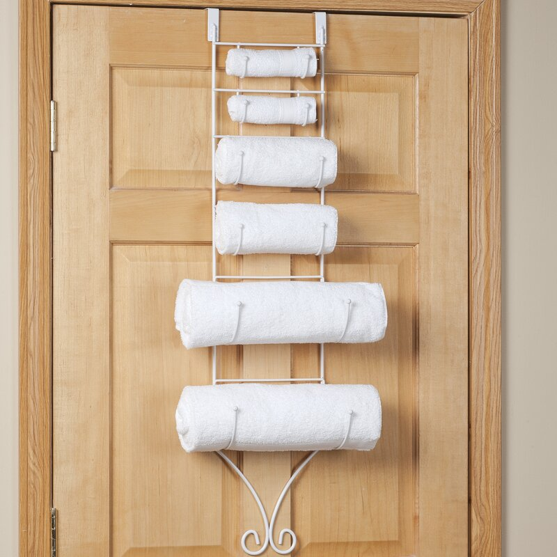 Over the Door Towel Rack & Miles Kimball Over the Door Towel Rack | Wayfair