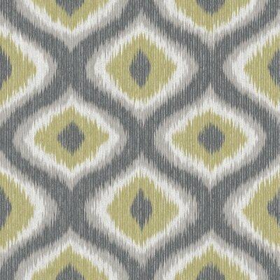 Abra 33 X 205 Ikat Wallpaper Roll