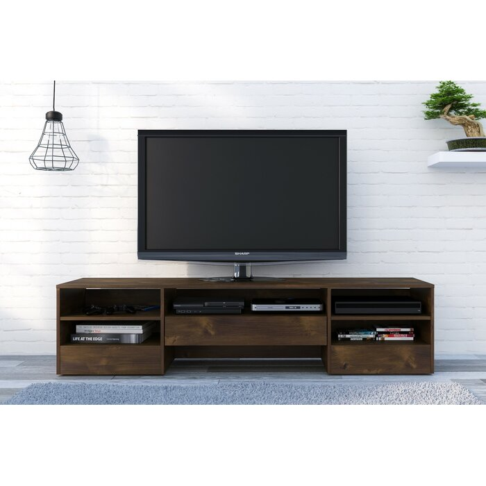 kitchen furniture tv dp wood quot stand we espresso console com amazon table