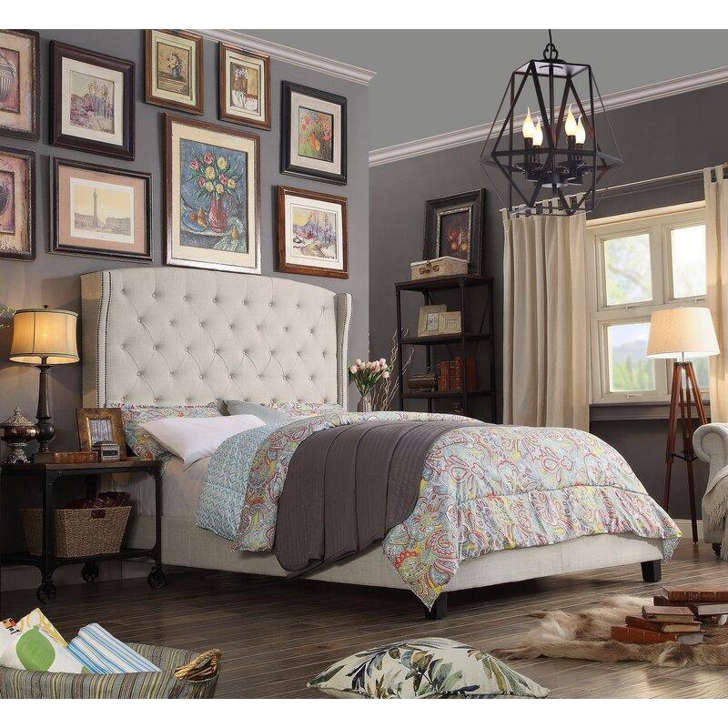 Destiny Upholstered Panel Bed