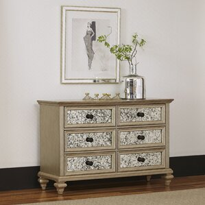Visions 6 Drawer Double Dresser by Home Styles