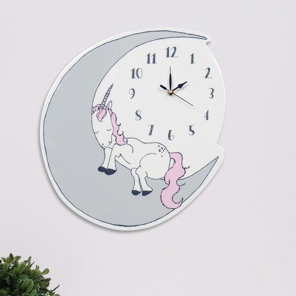 c3afbd45db5d Unicorn Clock | Wayfair