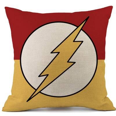 1c36d0c08b62 Crover DC Comics Justice League Superhero The Flash Lightning Logo ...