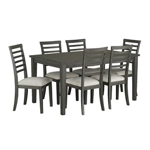 Chisdock 7 Piece Dining Set