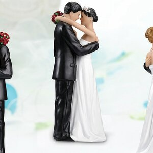 Hispanic Tender Moment Cake Topper