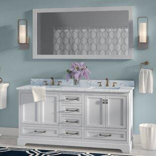 Save To Idea Board Gray White Willa Arlo Interiors Stian Double Sink Bathroom Vanity Set