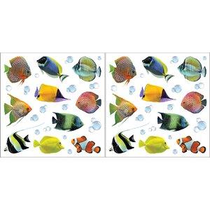 Euro Fish Wall Decal Set