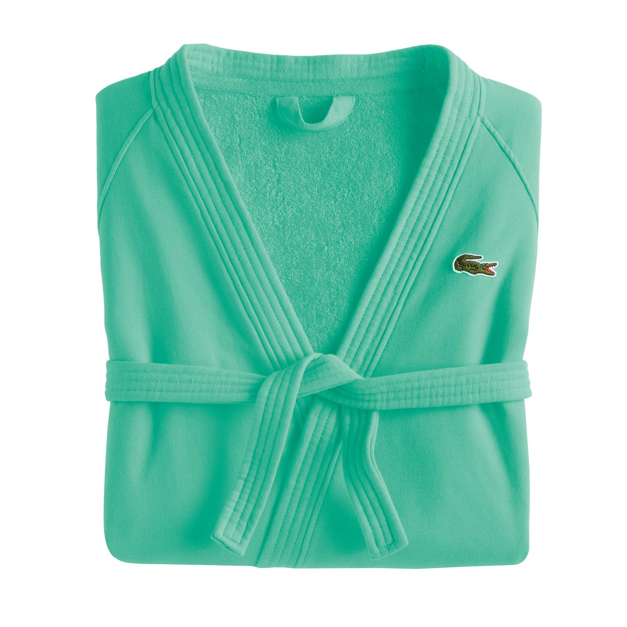 dccaacd796 Lacoste Break Point 100% Cotton Terry Cloth Bathrobe