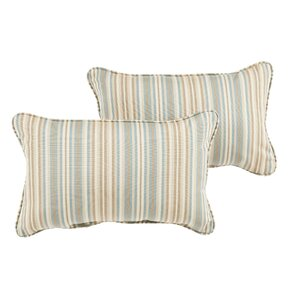 cavisson sunbrella lumbar pillow set of 2 - Sunbrella Pillows