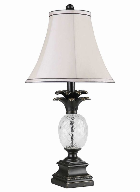 Pineapple table lamp reviews joss main pineapple table lamp aloadofball Choice Image