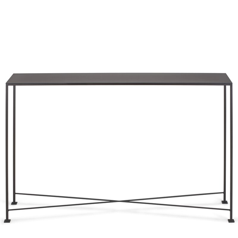 Charmant Diversey Metal Console Table