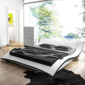 Damen Upholstered Platform Bed by Wade..