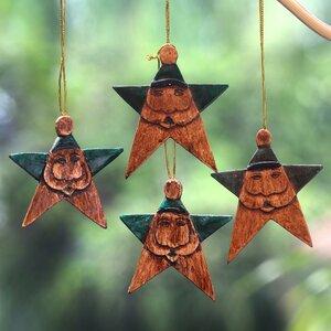 Santa Stars Ornament