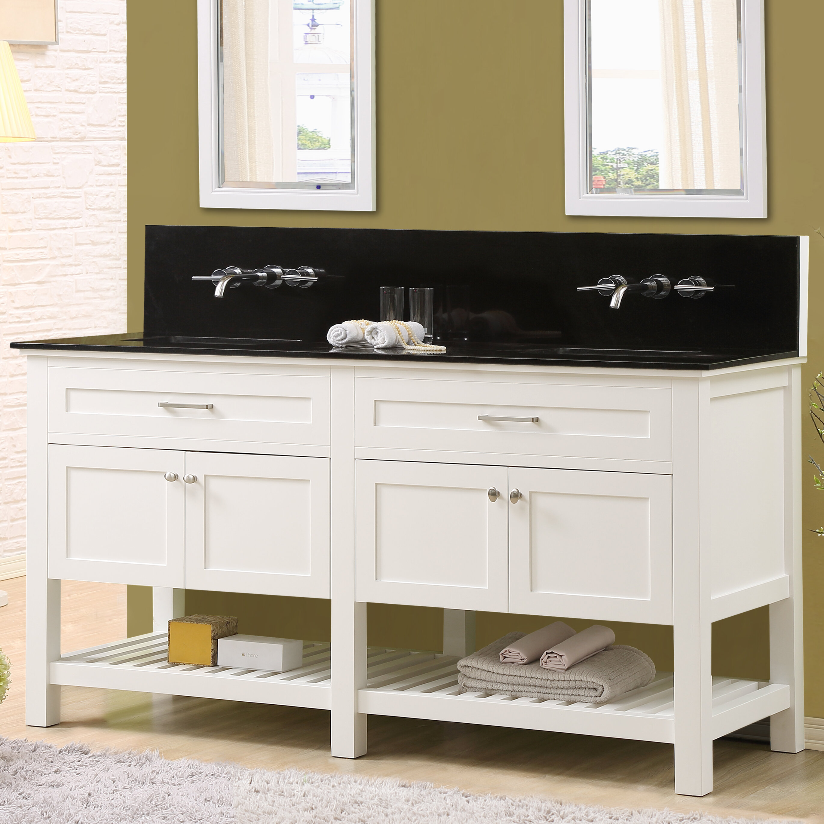 70 double sink bathroom vanities spa latitude run fairfield 70