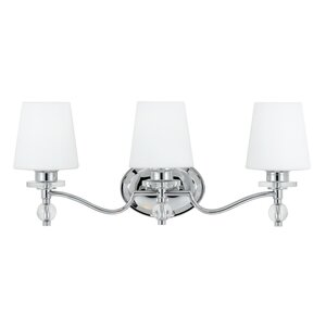 Vanity lighting joss main johannah 3 light vanity light mozeypictures Image collections