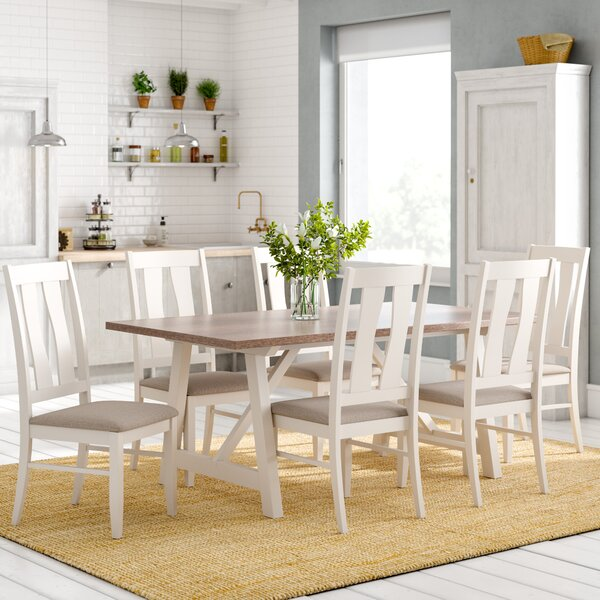 Laurel Foundry Lombardy Dining Table And 6 Chairs Amp Reviews Wayfair Co Uk