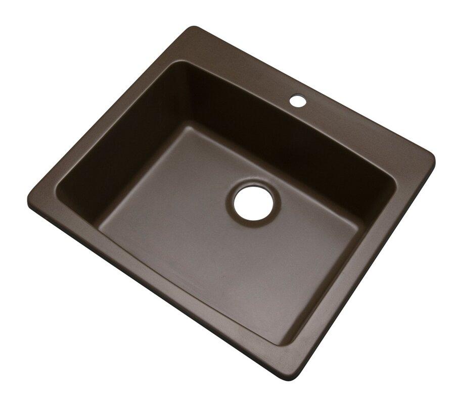 Kitchen Sink 25 X 22 Solidcast northbrook 25 x 22 kitchen sink reviews wayfair northbrook 25 x 22 kitchen sink workwithnaturefo