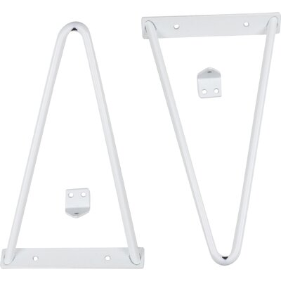 Tronk Design Adams Shelf Bracket Finish: White