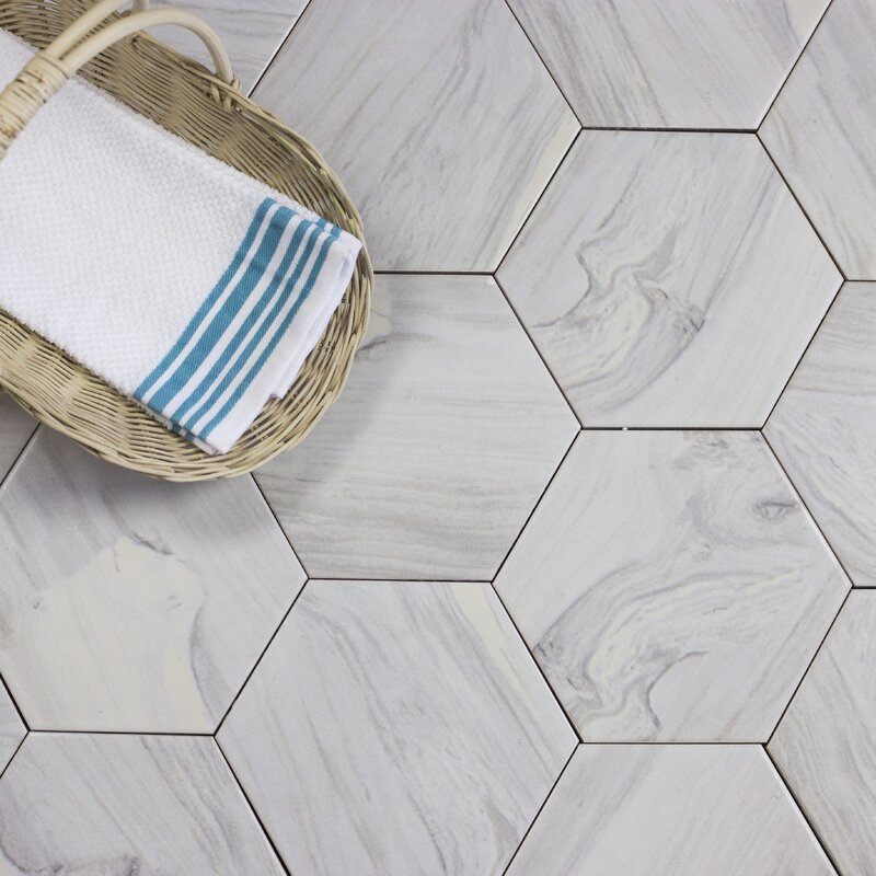 Hexagonal Tile You\'ll Love | Wayfair
