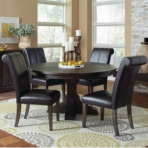 Bumgardner 5 Piece Dining Set by Three Posts